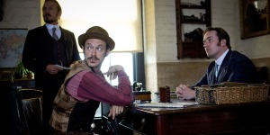 Reid, Jackson, and Drake in episode 8 of Ripper Street