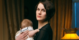 Lady Mary in Downton Abbey Season 4, photo by Nick Briggs/Carnival Film and Television Limited 2013 for MASTERPIECE